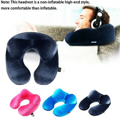 Memory Foam U Shaped Travel Pillow Neck Support Head Rest Airplane Cushion New