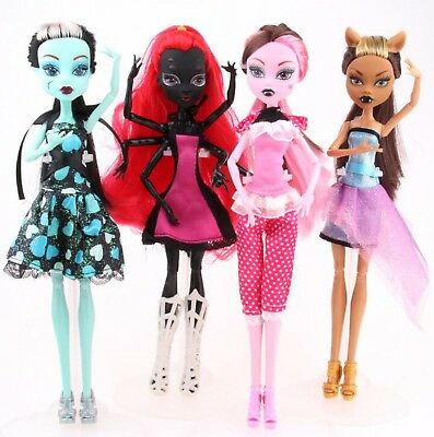 New Brown Face Monster High Fashion Doll Lagoona Girls Toy