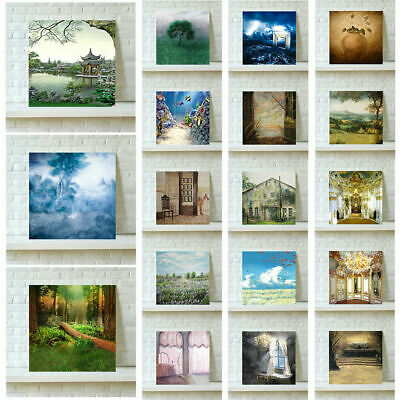 Unframed Vintage Art Oil Painting Canvas Picture Print Poster Home Wall Decor