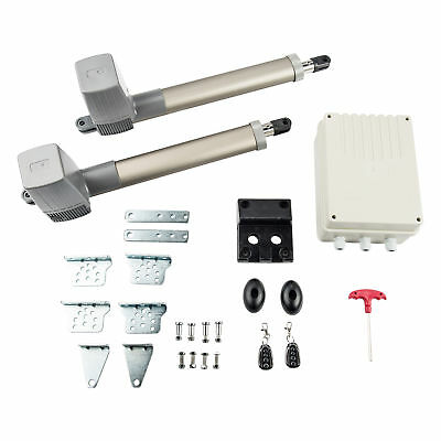 Automatic Heavy Duty Arm Dual Swing Gate Opener, Gates Up to 662 lb. 110V/60Hz
