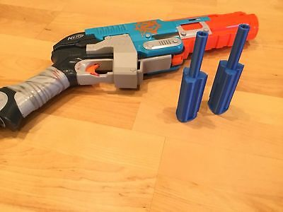 2 Nerf Compatible Zombie Strike Sledgefire MEGA DART Single Shot ANY COLOR, USA