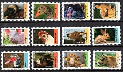 France - French - 2017 - Int Agricultural Show - Fu - Full Set Of 12 Stamps