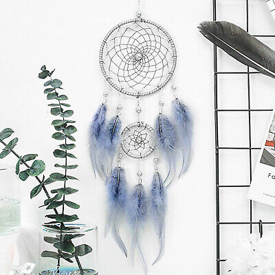 "18"" Dream Catcher Handmade Feather Car Wall Hanging Room Ornament Craft Gift"