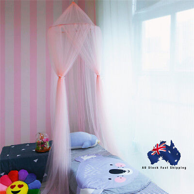 Dome Lace Mosquito Net Bed Canopy Netting Fly Curtain Insect Protection