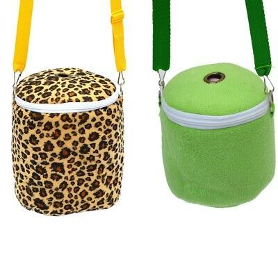 Small Pet Hamsters Carrying Bag Round Nest Warm Sleeping Bag Shoulder Bag 1PC