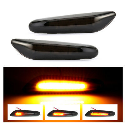 Dynamic Side Marker Turn Indicator Light For BMW E90 E91 E92 E93 E60 E87 E82 E46