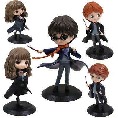15CM Film Harry Potter Q Posket Ron / Hermione Action Figurine Jouets NEW IN BOX