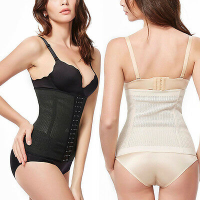 Latest Women Corset Tummy Control Band High Waist Cincher Breathable Shapewear