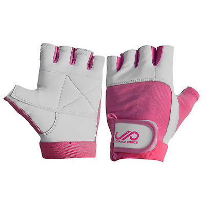 JP Ladies Weight Lifting Gym Gloves Body Building Women Training Fitness - Pink