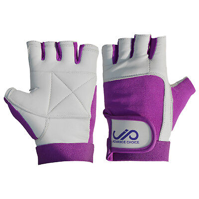 JP Women Weight Lifting Gym Gloves Body Building Training Fitness - Purple