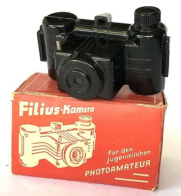 """Original """"Filius Kamera"""" from 1950s - Mint Condition - """"Made in Western Germany"""""""