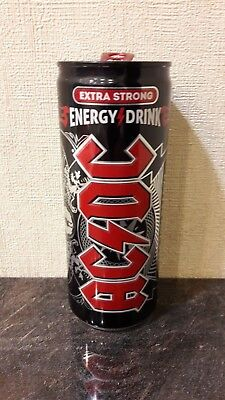 """Ac/dc Energy Drink Full Can """"are You Ready 2016"""" Limited Rare/unopened Ukraine!!"""
