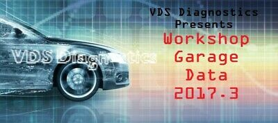 Newest 2017.3 Garage Workshop Data Software **DOWNLOAD ONLY**