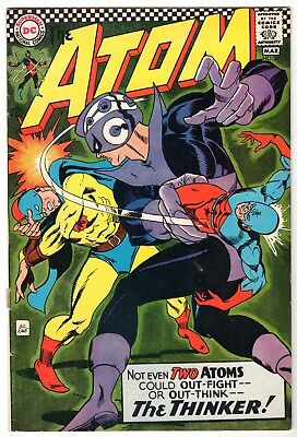 Atom #29 - First Golden Age Atom Cross Over in Silver Age, Very Fine Condition'
