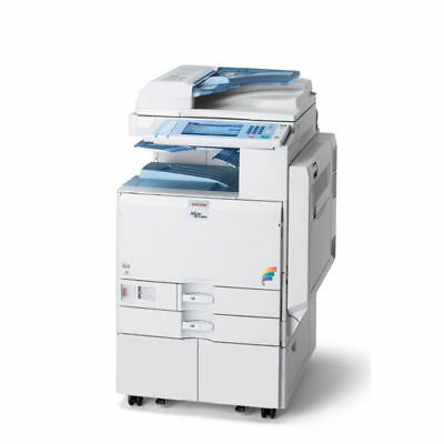 Ricoh Aficio MP C2500 Color Multifunction Laser Copier Printer Scanner
