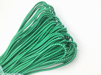 Round Elastic Stretch Cord Elastic band for waist band Sewing Band Green Crafts