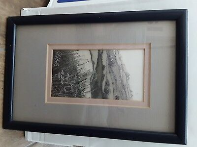Rare Early Alison Holt Embroidered Silk Artwork c.1989