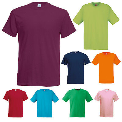 Fruit Of The Loom Original Short Sleeve S-5Xl T-Shirt Ss12