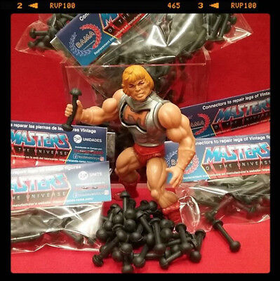 Pack 50 Connectors To Repair Legs Of Masters Of The Universe - Motu