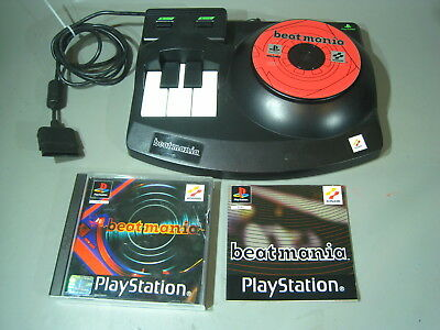 Pfür Sony Playstation  PS1 Beat Mania + Controller