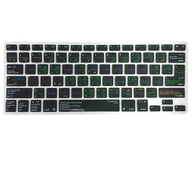 Keyboard Cover for VIM Text Editor Shortcut MacBook Pro Touch Bar iMac Wireless
