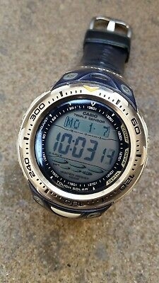 CASIO SPF 70 SEA PATHFINDER Triple Sensor Tough Solar Baro  htEDu