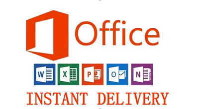 Instant--Microsoft Office 365 Pro Plus -5 Devices -5Tb Onedrive-  Lifetime