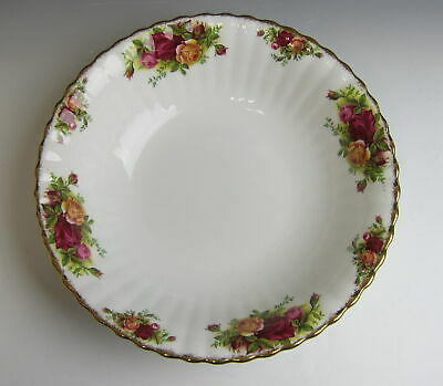 "Royal Albert China OLD COUNTRY ROSES Round Vegetable Bowl 9"" EX"