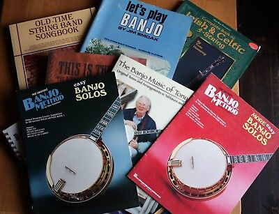 5-String BANJO Tutorials | 8 Issues | Tablature | Bluegrass & Old Timey