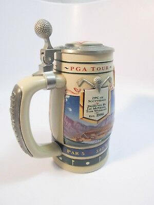 Michelob Beer Stein PGA Tour TPC of SCOTTSDALE Golf Course Anheuser-Busch 1998