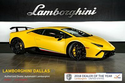 2018 Lamborghini Huracan Performante  METALLIC COLOR+RR CAM+LIFT SYS+STYLE+TRANSPARENT ENGINE+BRANDING+NARVI 20""