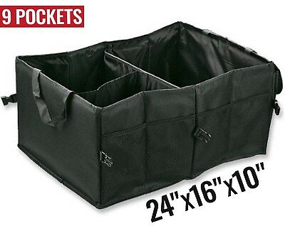 CAR TRUNK ORGANIZER Collapsible Truck Suv Foldable Cargo Groceries Storage Box