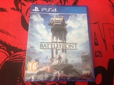 Star Wars Battlefront - Sony PlayStation 4 PS4 Brand New & Partially Sealed