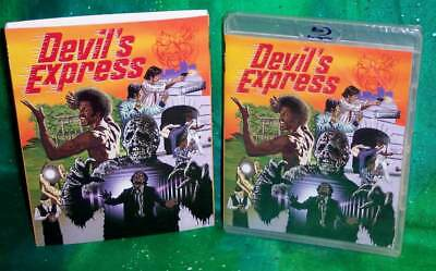 New Rare Oop Code Red Devil's Express Horror Movie Blu Ray 1976 & Slipcover