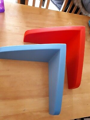 Ikea Mammut Floating Shelves X 2Used But Good Condition.