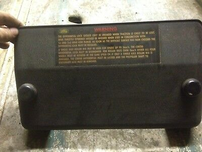land rover defender 90 110 19j 200 tdi fuse box cover with screws