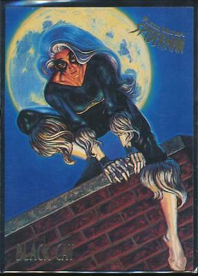 1995 Fleer Ultra Spider-Man Premiere Trading Card #5 Black Cat
