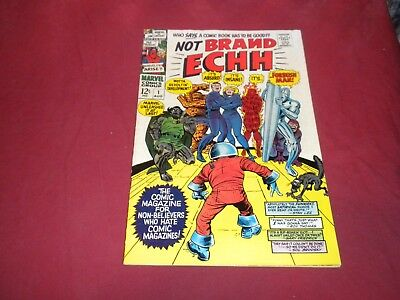 Not Brand Echh #1 marvel 1967 silver age 5.5/6.0 comic! Lots of #1's listed! WOW