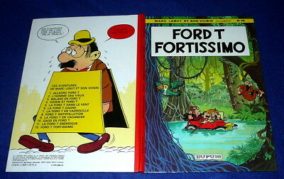 BD MARC LEBUT n° 12 la ford T FORTISSIMO EO 1978 TBE !!!