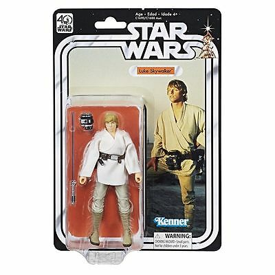"Luke Skywalker ( 6 "" ) Star Wars 40Th Anniversary ( Retro Series ) Action Figure"