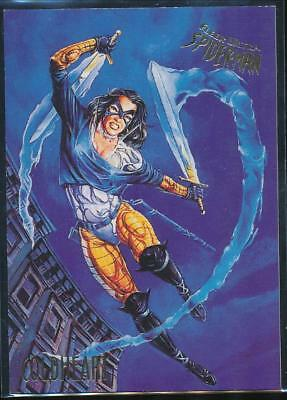 1995 Fleer Ultra Spider-Man Premiere Trading Card #17 Coldheart