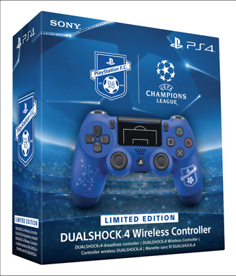 Sony PS4 DualShock 4 V2 Limited Edition FC Controller PlayStation UEFA F.C. BLUE
