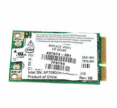 403927-001 HP DV4000 Series Wireless Mini Wifi Card 802.11b//g