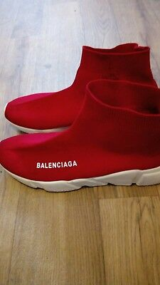best shoes aliexpress price reduced balenciaga x supreme limited edition speed trainer red ...