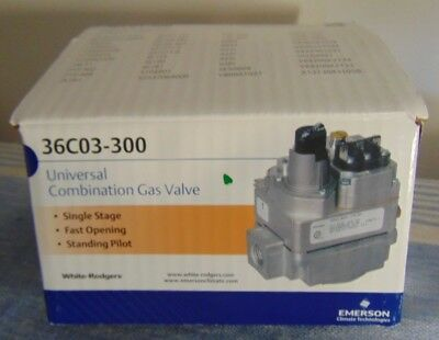 Emerson White Rodgers 36C03-300 Universal Combination Gas Valve.new in Box