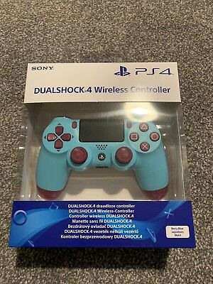 Limited Edition Sony PlayStation DualShock 4 V2 Berry Blue PS4 Controller New **