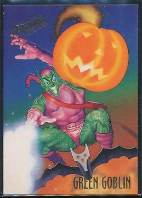 1995 Fleer Ultra Spider-Man Premiere Trading Card #23 Green Goblin
