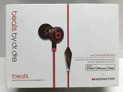 Beats. By Dr. Dre with Control Talk Made For iPod/iPhone/iPad