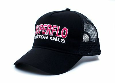 Superflo Hat - Days of Thunder Trucker Hat Unisex Adult Cap Black