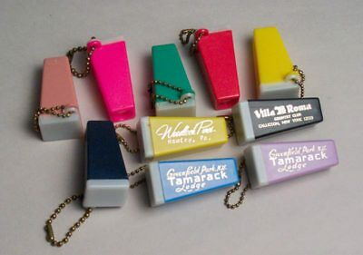 Ten Key Chain Photo Viewers Assorted Colors Vintage